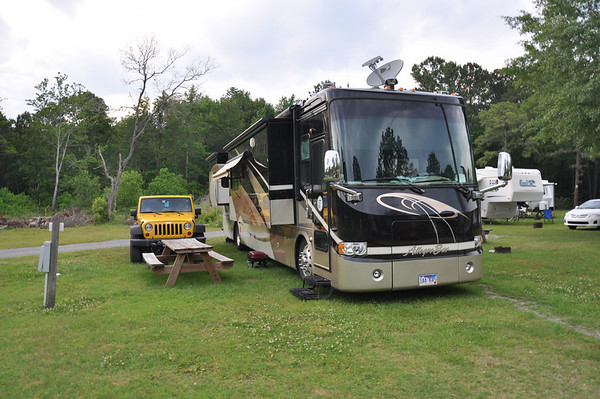 Lake Aire Campground, South Carolina