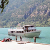 The boat from Chelan - this is how you get to and from Stehekin.