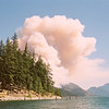Beginnings of the Flick Creek Fire, Stehekin, WA
