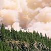Flick Creek Fire, Stehekin