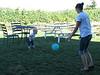 Ballspiel mit Bedienung