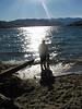 Badibadi am Lake Chelan