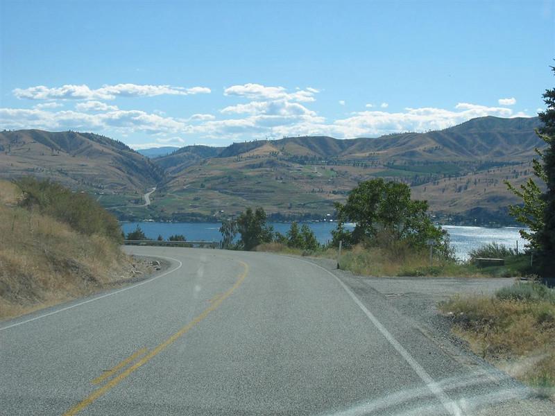 Lake Chelan vom Uncle Tim's Cabin, Cooper Gulch Road