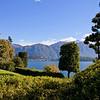 View across Lake Como from the Villa Carlota
