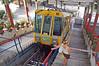 Tram takes Us up a 1200 Foot Peak