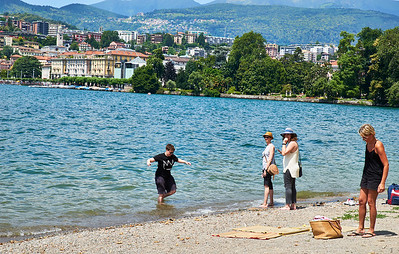 June  18-, 2017- Italy /Switzerland  Milan-Venice-Verona-Lake Como-Lugano trip  Sun 6/18  Lugano.  Credit: Robert Altman