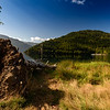 Lake Crescent shoreline from Log Cabin Resort