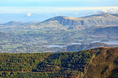 View from Grisedale - Derwent Water
