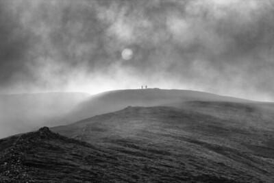 Robin & Gordon reach the summit - Grisedale Pike