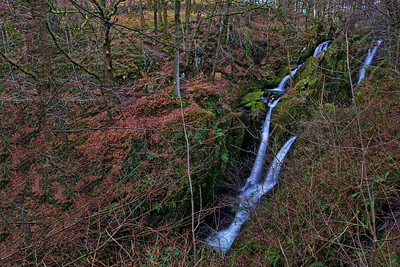 Upper Stock Ghyll Force waterfalls