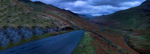 A drive through Honister Pass
