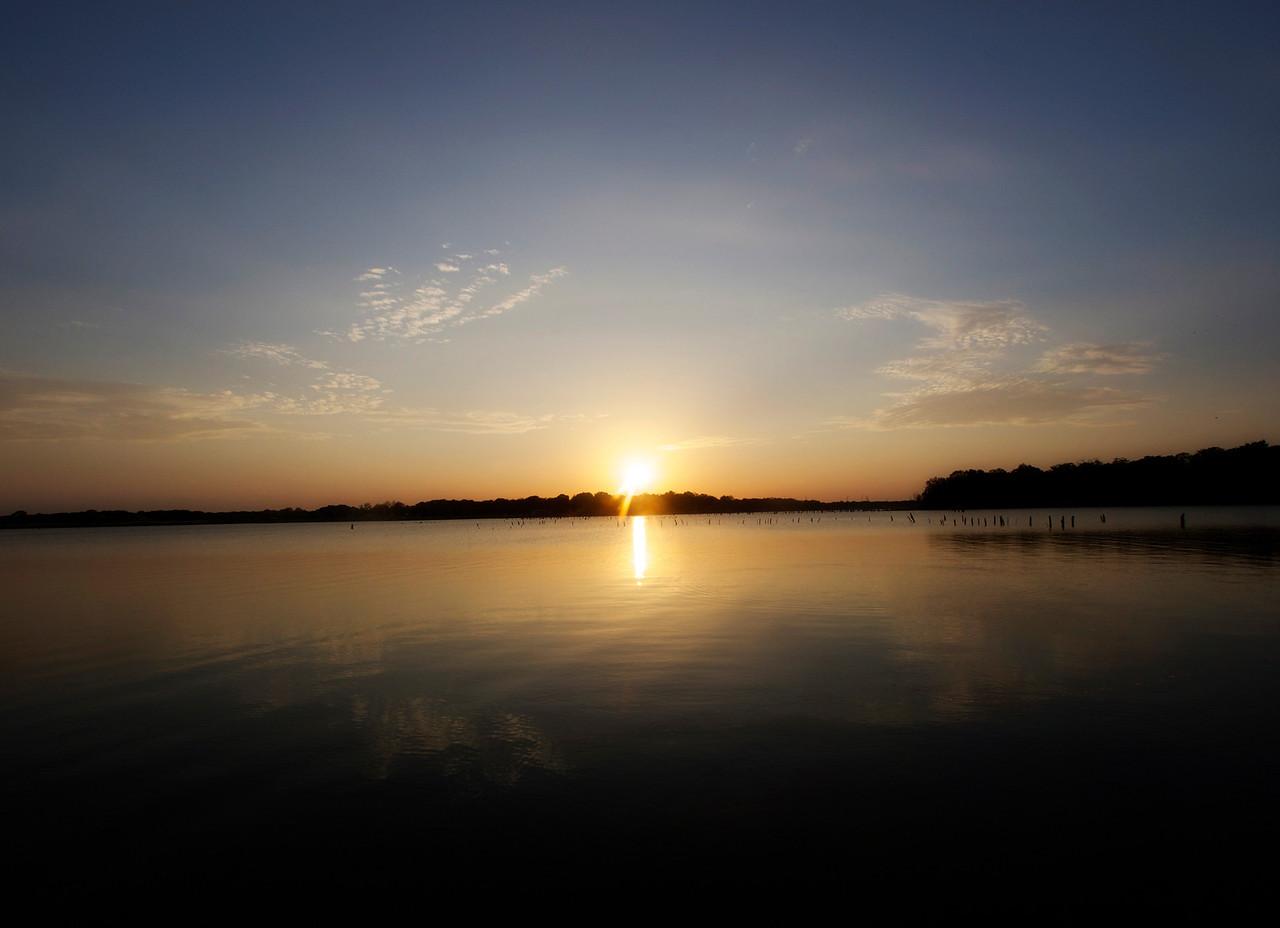 Blue Sunset on Lake Fork  Order Code: A1
