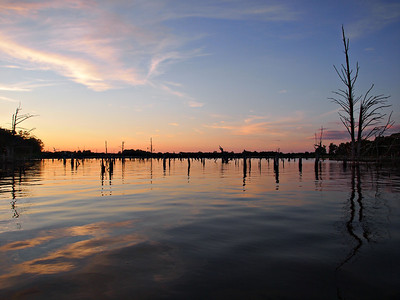 Evening on Lake Fork