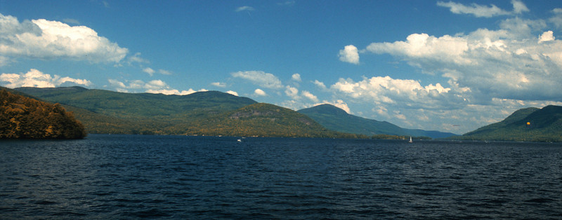 Lake George panorama