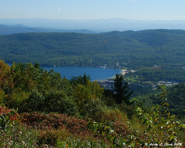Lake George from the viewing area