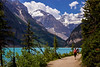 Lake Louise trail.