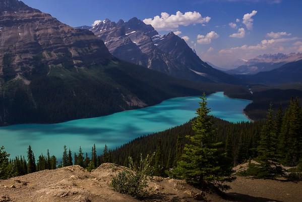 Canadian Rockies, Lake Louise, Icefields Parkway, Jasper N.P., Maligne Lake