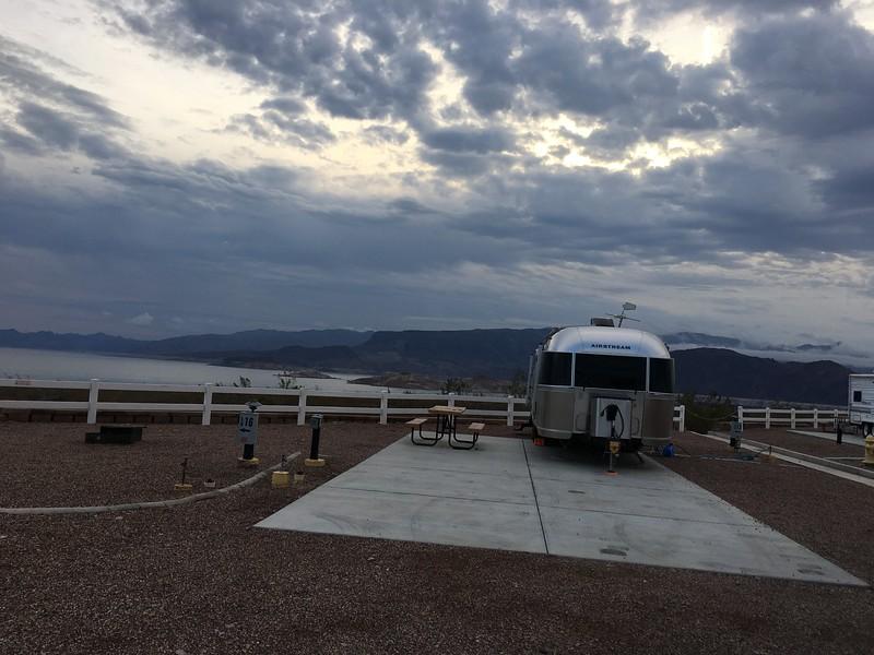 Lake Mead campsite