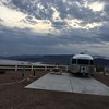 Lake Mead campsite