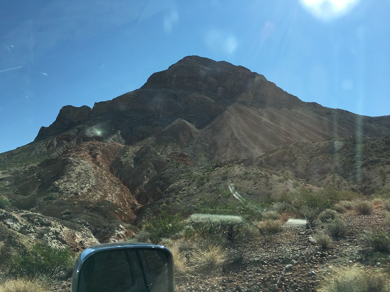 Red dirt and cactus