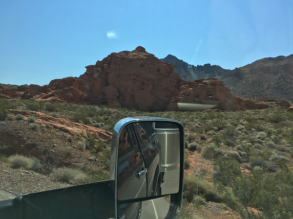 A hint of Valley of Fire State Park