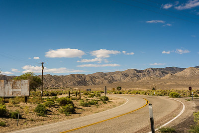 On the road to Lake Mead