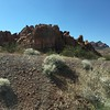 Sagebrush and rocks