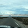 Driving through Lake Mead Nat'l Rec Area