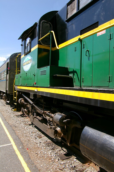 Adirondack Scenic Railroad, Saranac Lake, New York