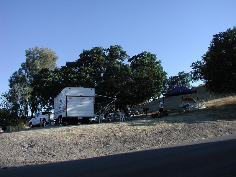 Charles' campsite