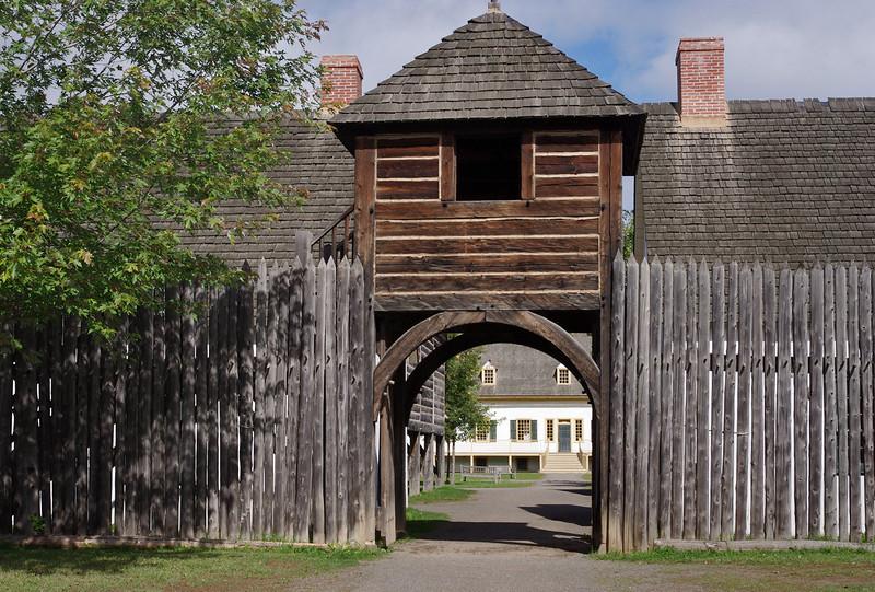 Fort William Historical Park, Thunder Bay, Ontario.