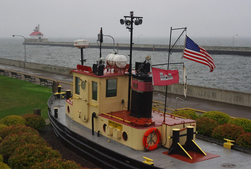 The tugboat Bayfield (retired), Lake Superior Maritime Museum, Duluth, Minnesota, Canal Park area.