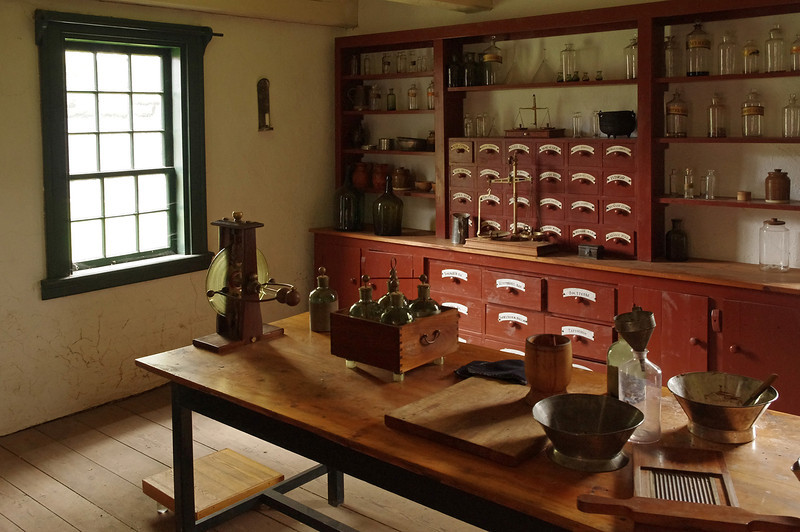 The Apothecary, Fort William Historical Park.