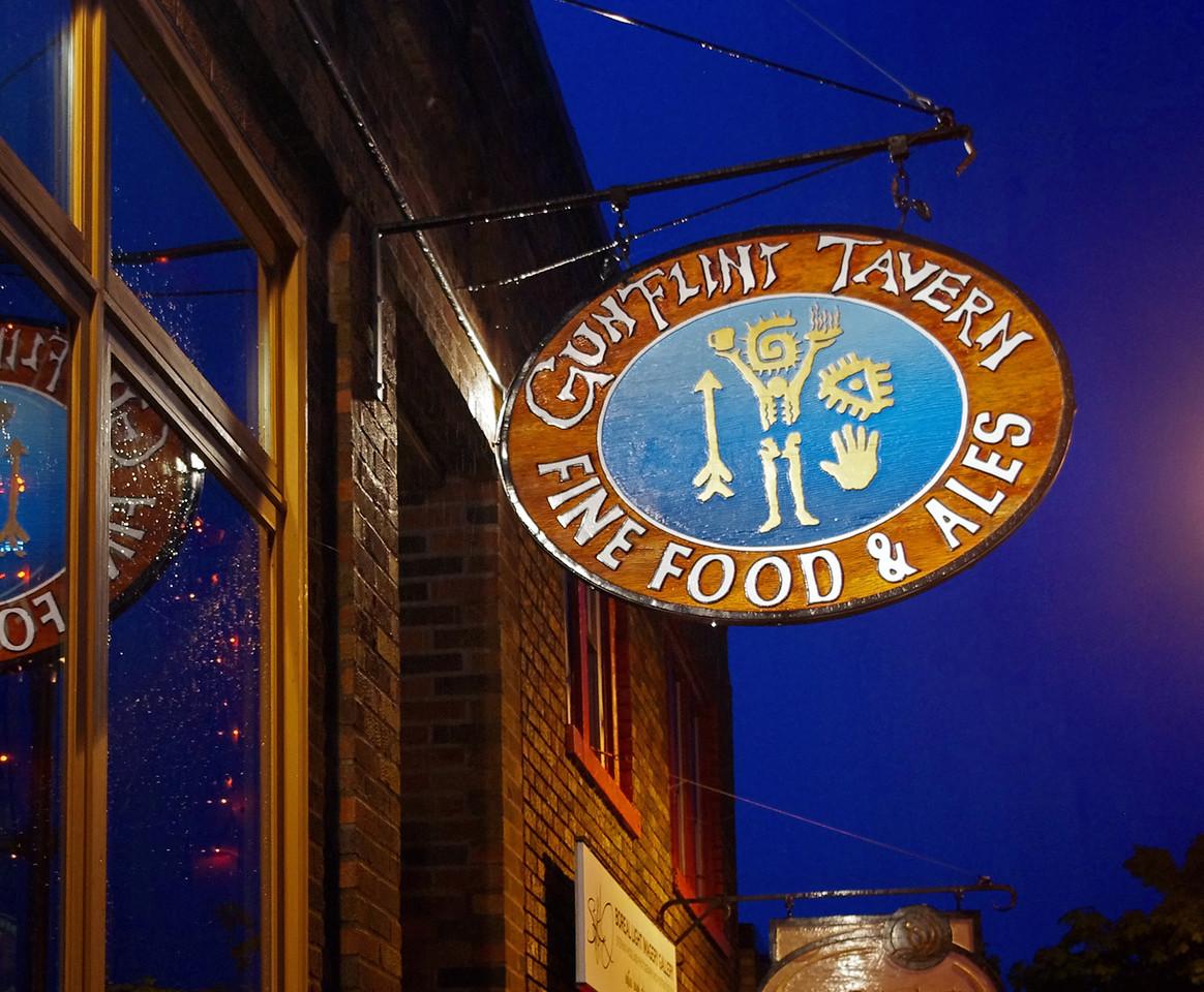 The Gunflint Tavern, Grand Marais, Minnesota.