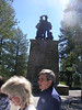 Donner monument at the Donner Party camp sight