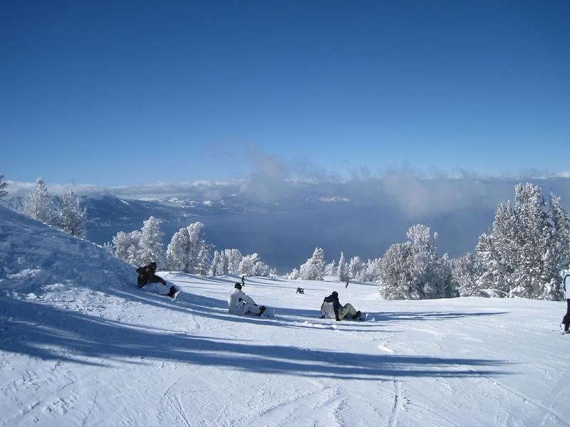 "Lake Tahoe from ""Ridge Run"" on Heavenly."