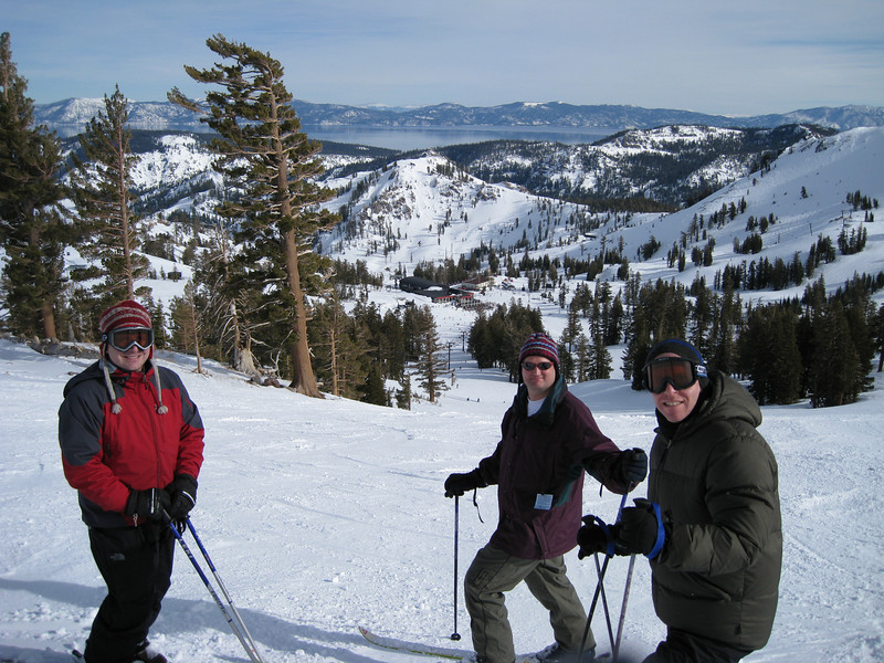 Me, Steve, and Ken at Squaw Valley