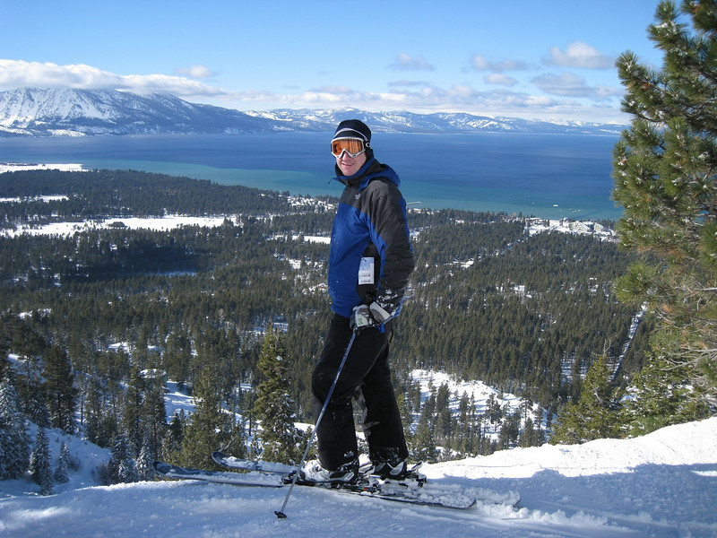 Matt and Lake Tahoe