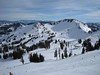 View from the top at Squaw Valley