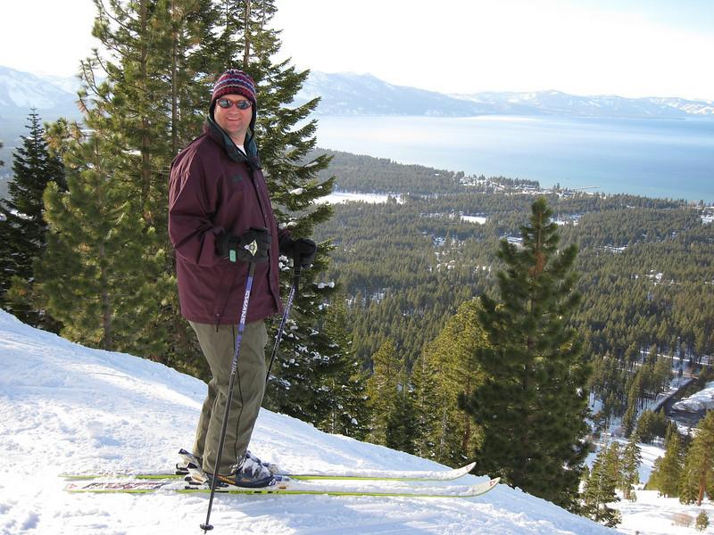 Steve and Lake Tahoe