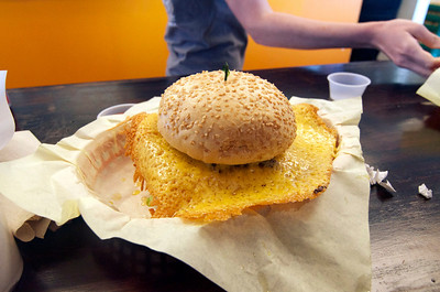 Squeezeburger with Cheese