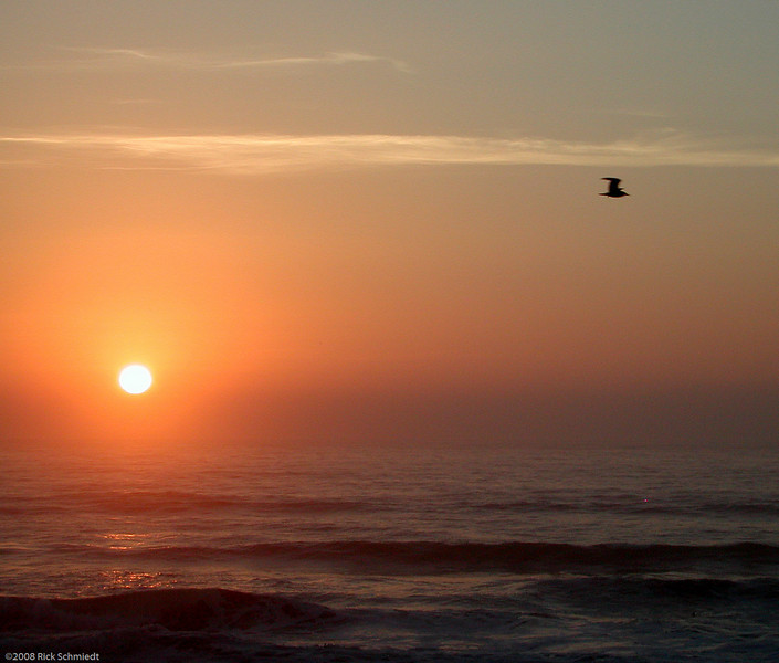 Pacific sunset, Yachats, Oregon