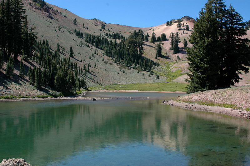 Peak Lakes, Lassen Park.