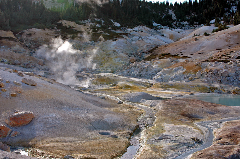 Volcanic vent, Lassen park.