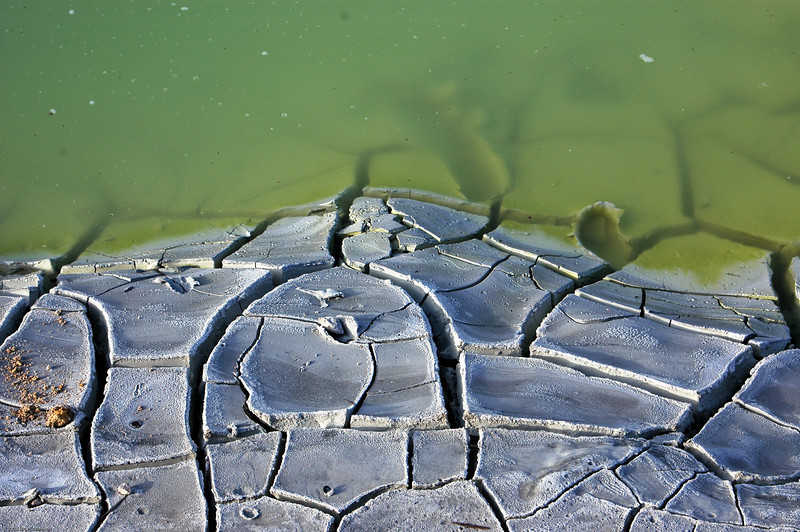 Volcanic mud pool, Lassen Park.