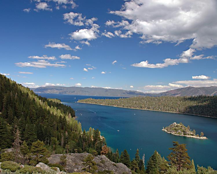 Emerald Bay, Lake Tahoe.