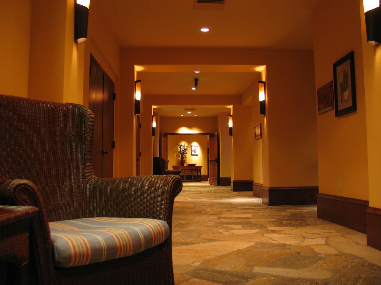 First floor halway in the Hyatt
