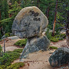 Balancing rock, Emerald bay, Lake Tahoe Ca
