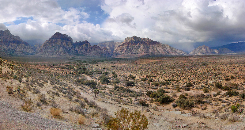 Red Rock Canyon from Roadside Overlook (best viewed in x2)