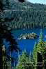 Fannette Island, Emerald Bay,  Lake Tahoe, California, USA, North America